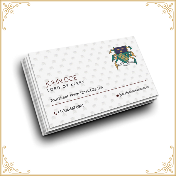 Lord of Kerry Business Cards